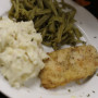pan fried chicken small
